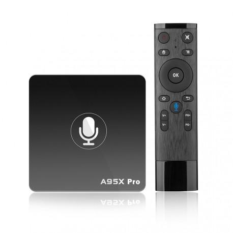 A95X Pro 2/16 Смарт ТВ приставка Андроид с голосовым поиском