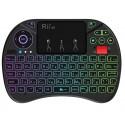 Беспроводная клавиатура Rii I8X , управление для Android TV