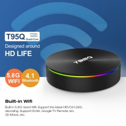 Смарт приставка T95Q S905X2 4/32 GB - Android 8.1 тв бокс купить по низкой цене