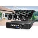 Комплект видеонаблюдения AHD Hiseeu AKIT-4AHBB12 на 4 камер и регистратор