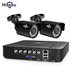 Комплект видеонаблюдения AHD Hiseeu AKIT-2AHBB12 на 2 камер и регистратор