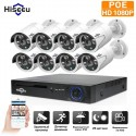 Комплект POE видеонаблюдения Hiseeu POEKIT-8HB612 на 8 камер и регистратор