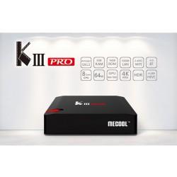 KIII Pro S912 3/16 DVB T2/S2 Meecool спутниковая Android TV приставка