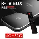 R-TV Box K99 4/32 GB Android TV приставка RK3399