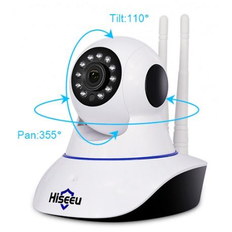 WIFI камера беспроводная Full HD Hiseeu FH1C, домашнее видеонаблюдение IP